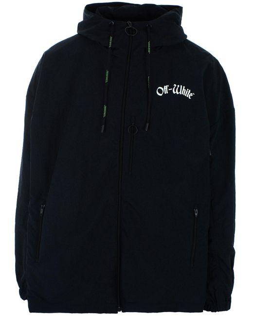 5960953413d8 Lyst - Off-White c o Virgil Abloh Black Jacket in Black for Men ...