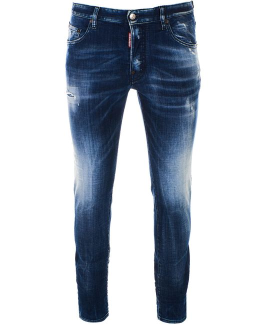 DSquared² Blue Skater Jeans for men