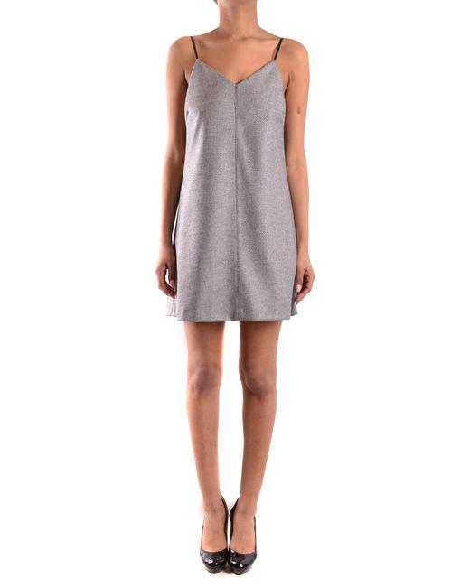 Pinko - Gray PINKO Dress - Lyst
