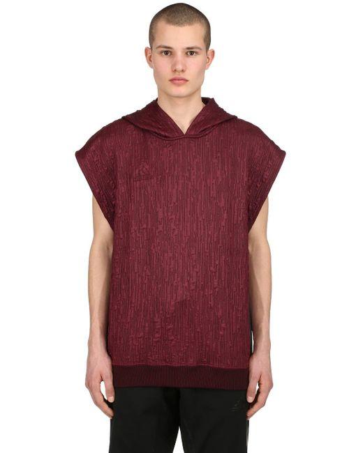 Adidas Originals - Red Paul Pogba Sleeveless Sweatshirt Hoodie for Men - Lyst