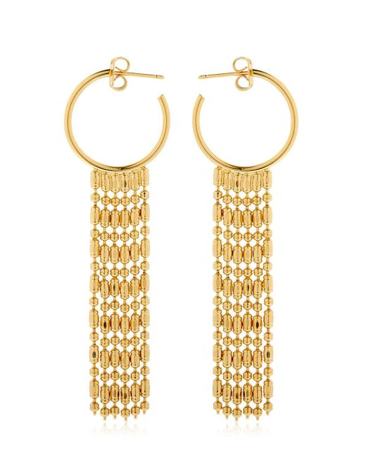 Philippe Audibert - Metallic Jessy Hoop Earrings - Lyst