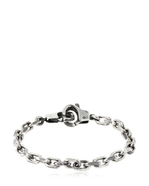 Cantini Mc Firenze - Metallic Handcuffs Chain Bracelet - Lyst