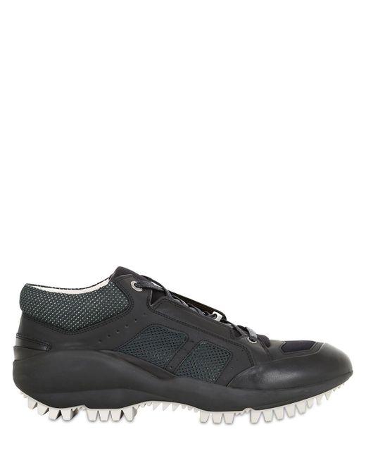 Lanvin | Black Running Sneakers for Men | Lyst