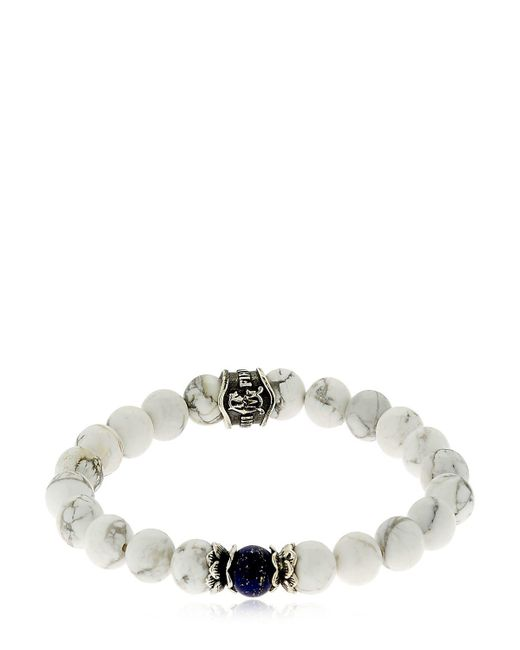 Cantini Mc Firenze - White Bracelet With Beads - Lyst
