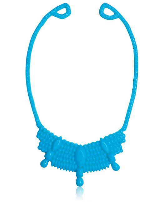 Mariah Rovery   Blue Colar Rainha Necklace   Lyst