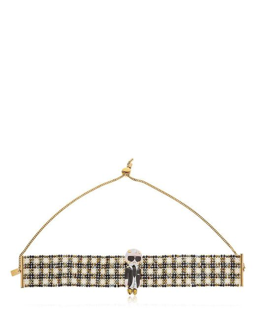 Bijoux De Famille - Multicolor Karl Beaded Choker Necklace - Lyst