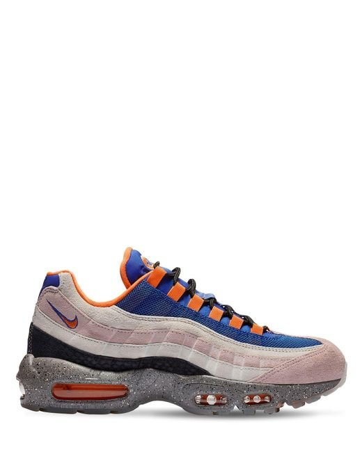 53d61acd11 Nike - Blue Air Max 95 We Sneakers for Men - Lyst ...