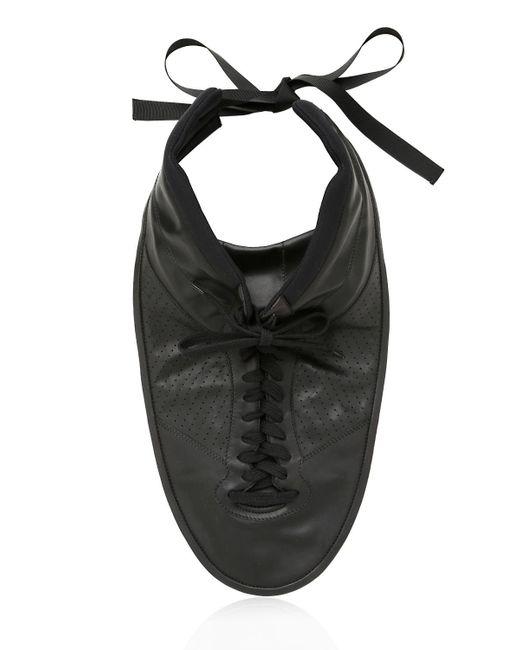 Maison Margiela - Black Plastron Sneaker Necklace - Lyst