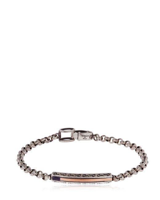 MARCO DAL MASO | Metallic Ara Bracelet | Lyst