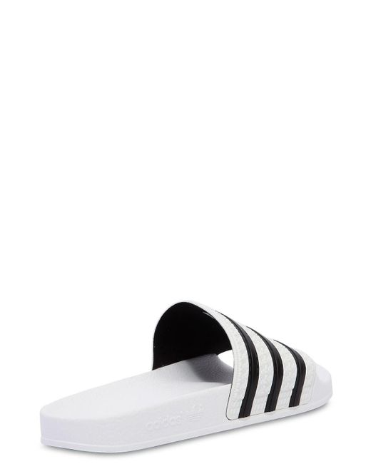 b6c13e6b9b3f6 ... Adidas Originals - Originals Adilette Slider Sandals In White - Lyst ...