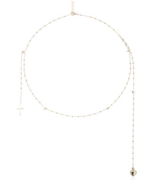 Givenchy   Metallic Rosario Necklace   Lyst