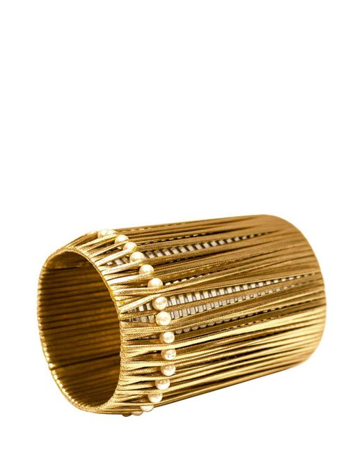 Vanina - Metallic Anjar Bracelet - Lyst