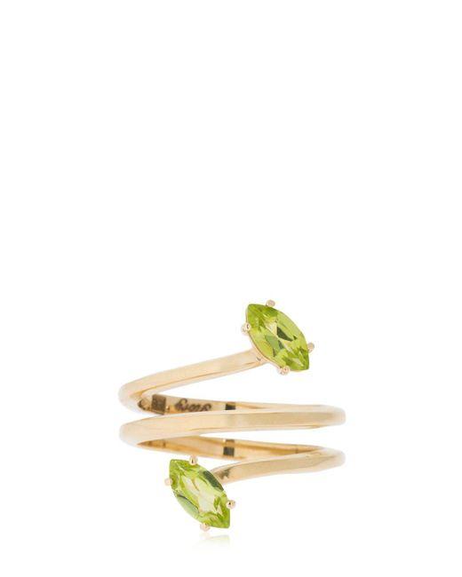 Bea Bongiasca - Metallic Gloriosa Lily Glory Gold Ring - Lyst