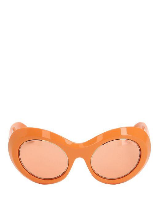 Emilio Pucci - Orange Gafas De Sol - Lyst