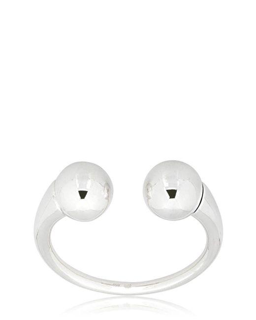 Betony Vernon - Metallic Double Sphere Massage Bracelet for Men - Lyst