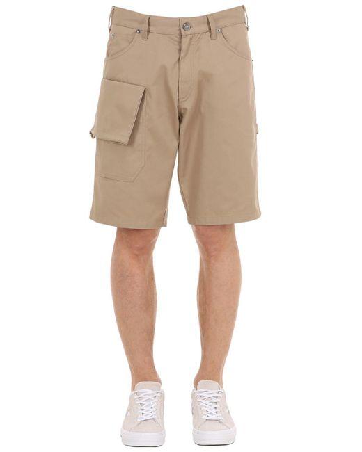 """Jacquemus - Natural Shorts """"le Short Gadjo"""" De Mezcla De Algodón for Men - Lyst"""