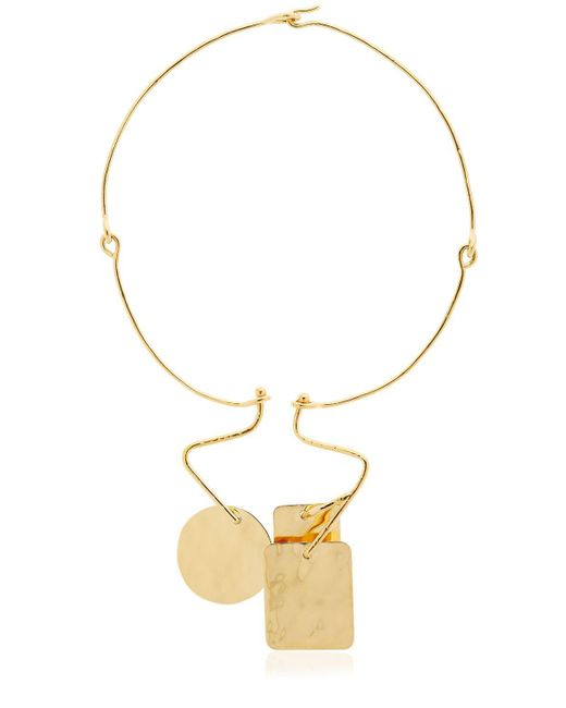 Aurelie Bidermann | Metallic Bird Garden Necklace | Lyst