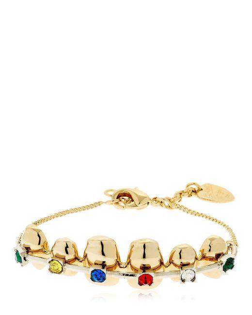 Schield - Metallic Brackets Bracelet - Lyst