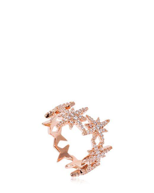 Apm Monaco - Pink Meteorites Ring - Lyst