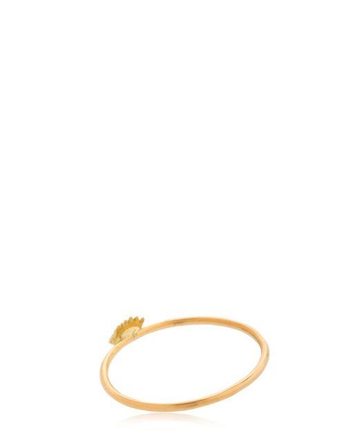 18kt white gold Micro Eye ring - Metallic Delfina Delettrez AMvR64