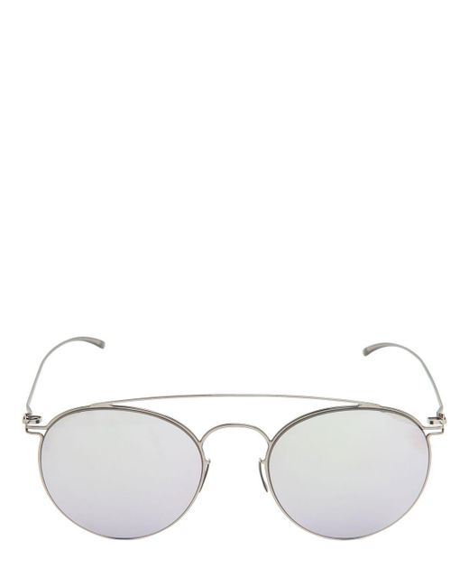 "Mykita - Metallic Gafas De Sol ""margiela Aviator"" Espejeados for Men - Lyst"