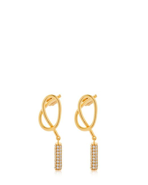 Joanna Laura Constantine - Metallic Knot Stud Earrings - Lyst