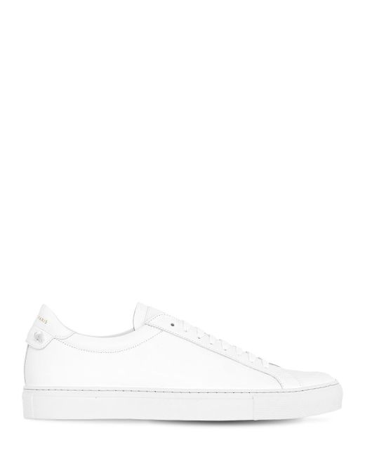 Givenchy - White Urban Street Leather Tennis Sneakers for Men - Lyst