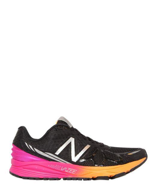 New Balance | Black Vazee Mesh Running Sneakers | Lyst