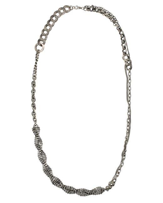 Tom Binns   Blue Calamity Chain Necklace   Lyst