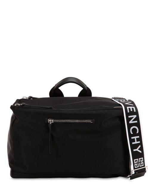 Givenchy - Black Pandora Nylon Bag for Men - Lyst