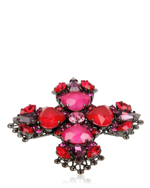 Erickson Beamon | Pink Crystal Ring | Lyst