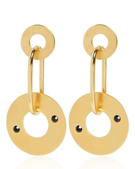 Marni - Metallic Wheels Earrings - Lyst