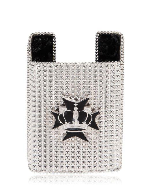 Bisou Bijoux | Metallic Big Square Cuff Bracelet | Lyst
