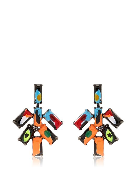 Tom Binns | Multicolor Au Fait Earrings | Lyst