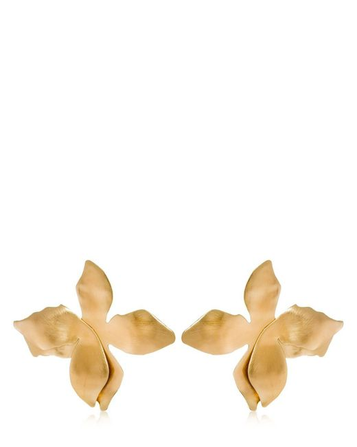 Elizabeth and James - Metallic Dalida Earrings - Lyst
