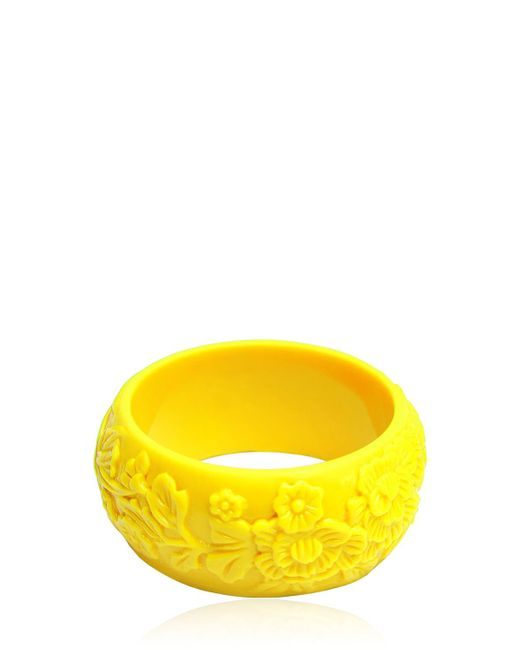 Mariah Rovery | Yellow Pulseira Flores Bracelet | Lyst