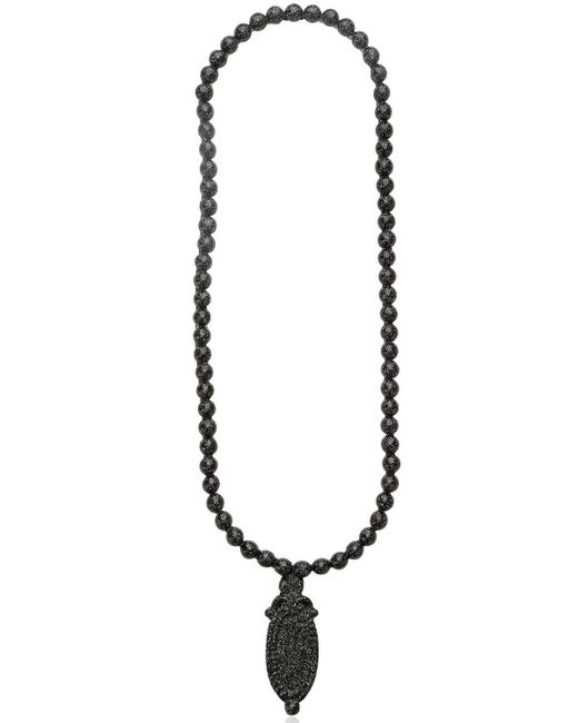 Mariah Rovery | Black Colar Camafeu Necklace | Lyst