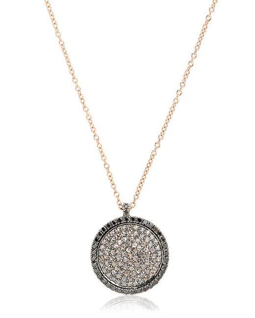 Roberto Marroni | Metallic Surround Diamond Necklace | Lyst