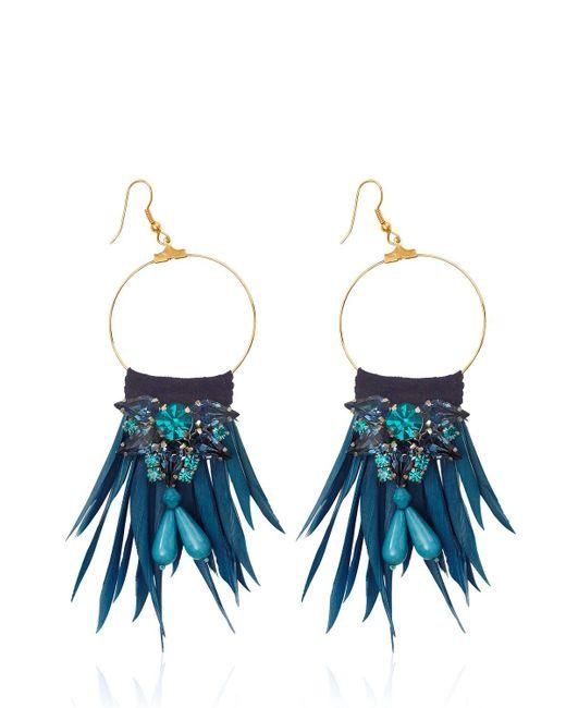 Matthew Williamson   Blue Earrings   Lyst