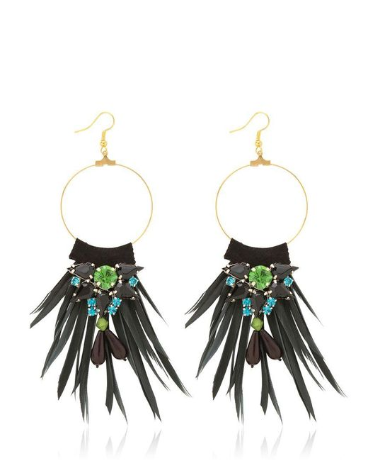 Matthew Williamson | Green Earrings | Lyst