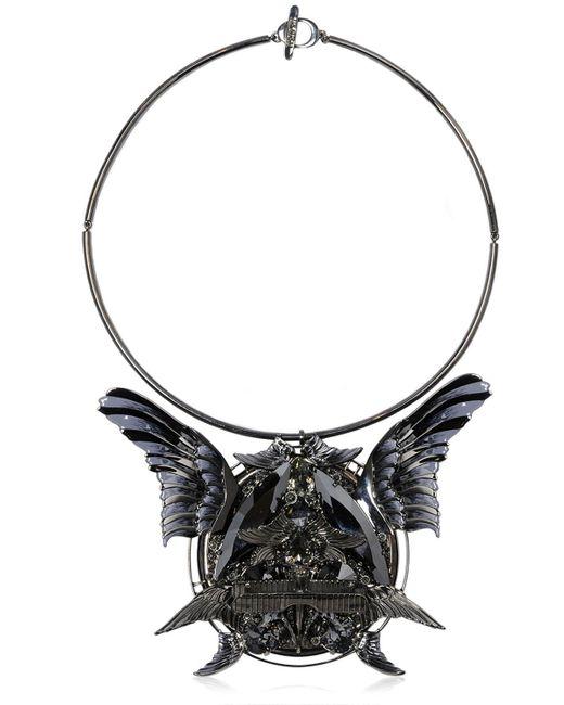Heaven Tanudiredja | Black Round Wings Medallion | Lyst