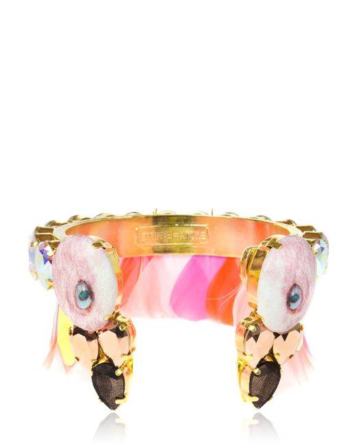Bijoux De Famille | Pink Flamingo Bracelet | Lyst
