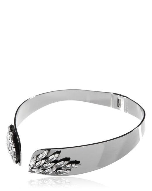 Ellen Conde | Black Necklace With Swarovski Crystals | Lyst