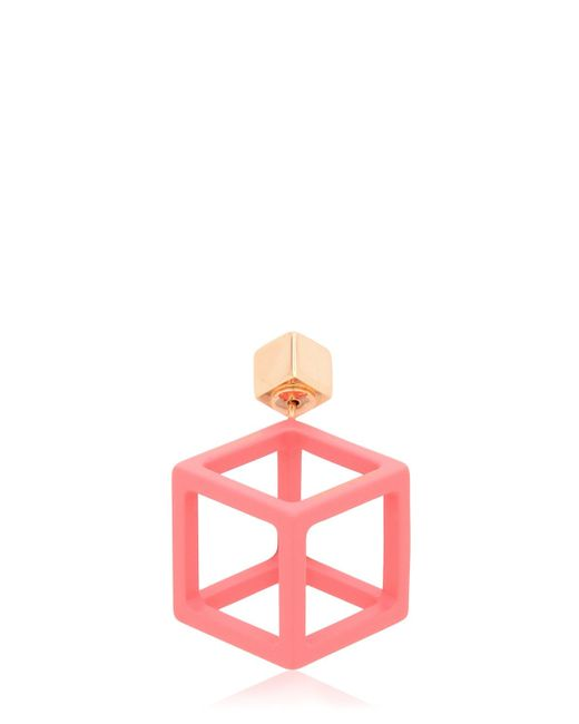 Caterina Zangrando | Pink Jason Mono Earring | Lyst