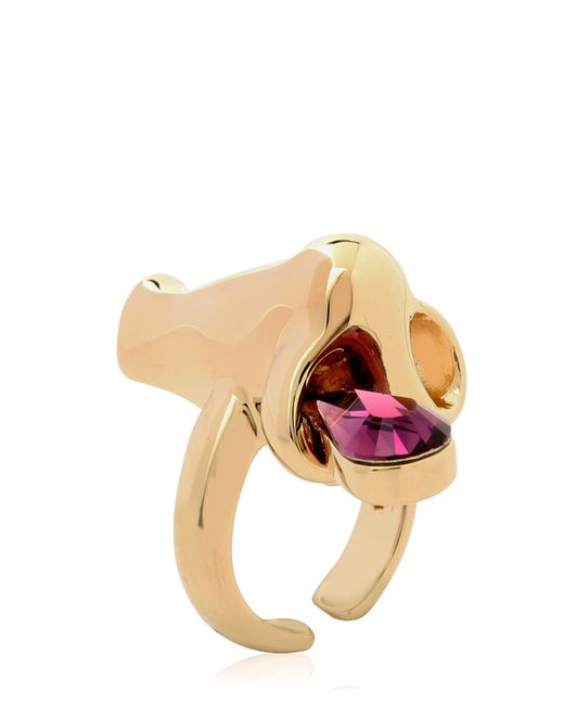 Schield | Metallic 'dripping Nose' Ring | Lyst