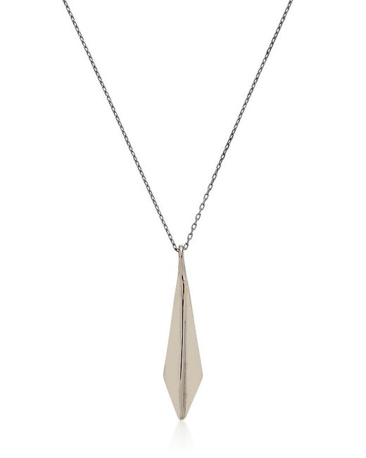 Maxime Llorens | Black Arrow Pendant Necklace | Lyst