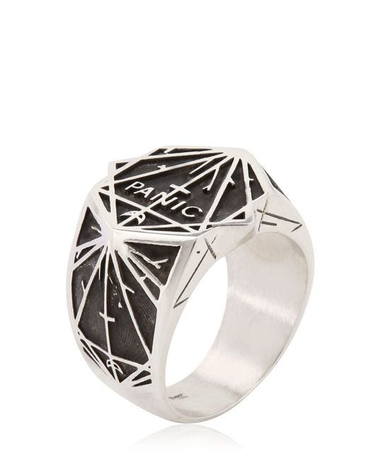 Meadowlark | Metallic Panic Ring | Lyst