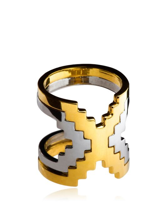 Monica Sordo | Metallic Kavanagh Ring | Lyst