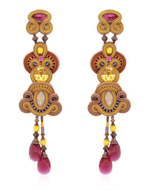 Dori Csengeri | Yellow Juno Earrings | Lyst