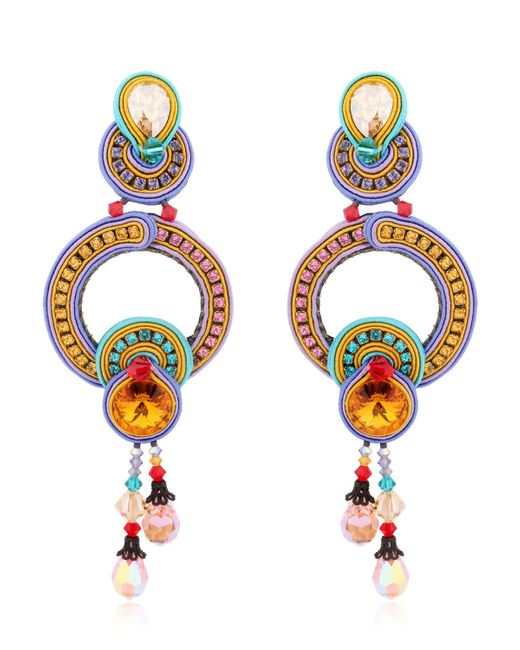Dori Csengeri | Orange Happy Earrings | Lyst